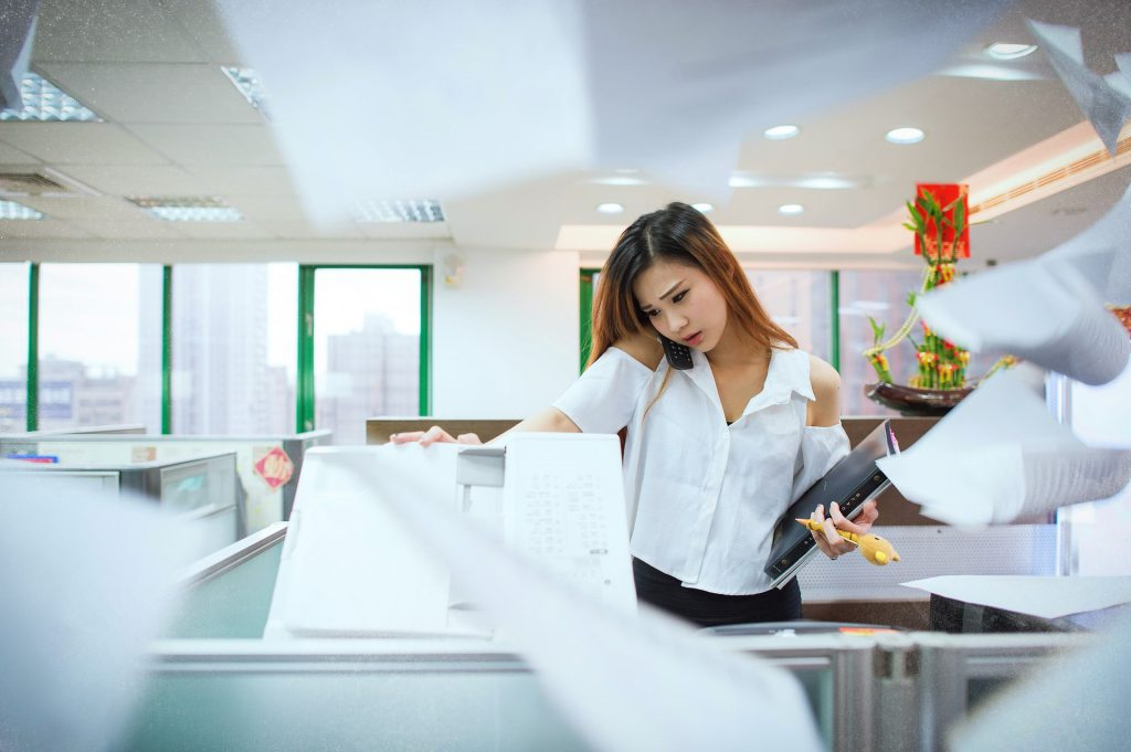 No more photocopier when tutoring online