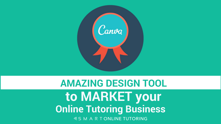 Amazing design tool to market your online tutoring business