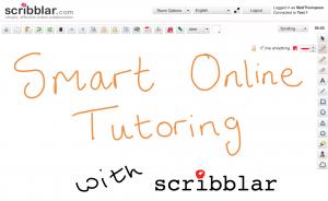 smart online tutoring with scribblar
