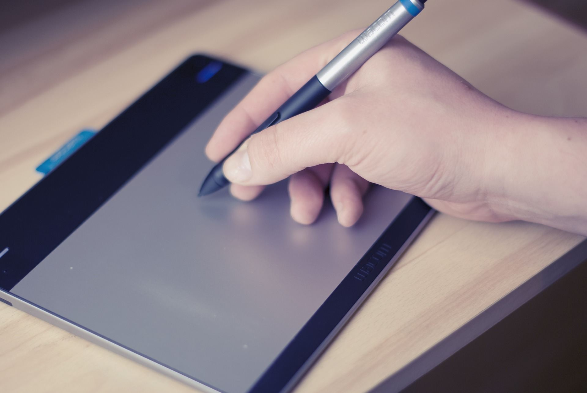 Wacom pen tablet for online tutoring