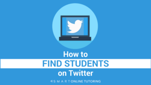 How to find students on Twitter