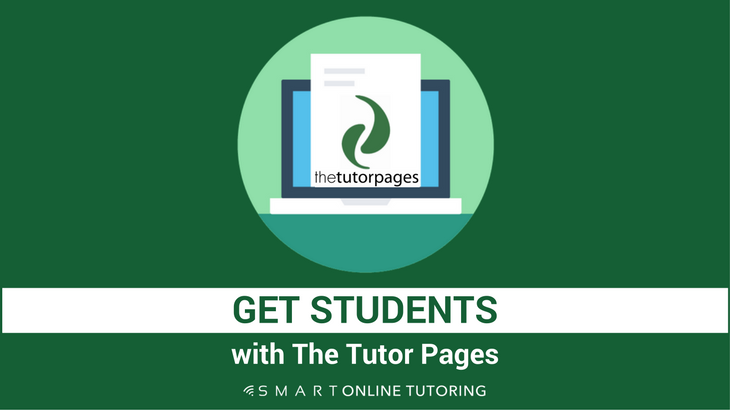 Get students with The Tutor Pages