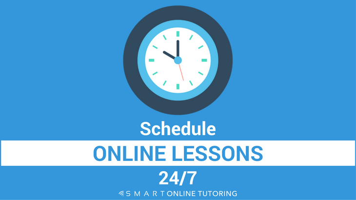 Schedule online lessons 24_7