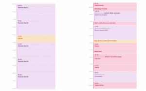 Online tutoring schedule