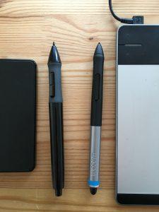 Pen comparison